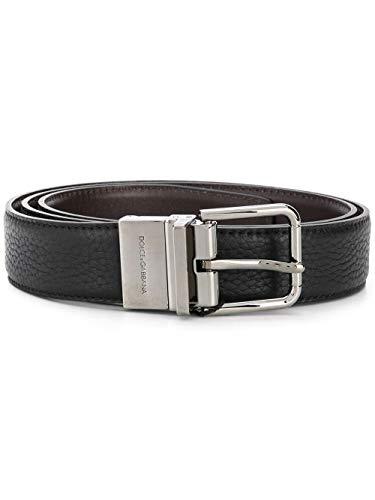 Dolce e Gabbana Luxury Fashion Uomo BC4263AX3428S203 Nero Pelle Cintura | Primavera-estate 20