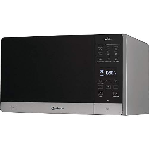 Bauknecht Chef Plus MW 45 SL Kombination Grill und Mikrowelle / 900 W /25 L Garraum / Quartz Grill 800 W / DualCrisp Funktion / AutoClean / Schmelz- und Schnellauftau-Funktion / Brot-Auftaufunktion
