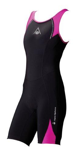 Aqua Sphere Triathlon-Anzug für Damen, schwarz / pink, 86,4cm, schwarz/pink, xxs