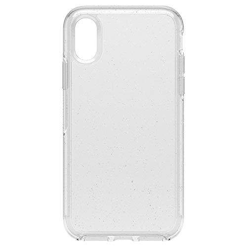 Otterbox 77-59609 Serie Symmetry Custodia Clear Protezione Cristallina per iPhone X/Xs, Trasparente Glitter