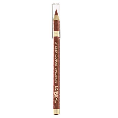 L'Oréal Paris - Crayon à Lèvres - Color Riche Lip Liner - Teinte : Brun Cuivré, Rose Nude (108) - 1.2 g