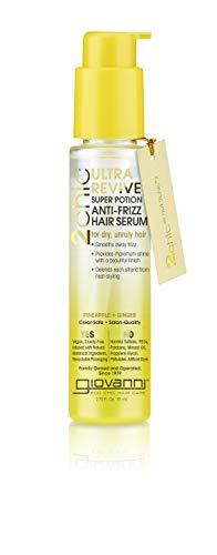 Giovanni Cosmetics 2 Chic Ultra-Revive Anit Frizz Hair Serum, 2.75 Oz