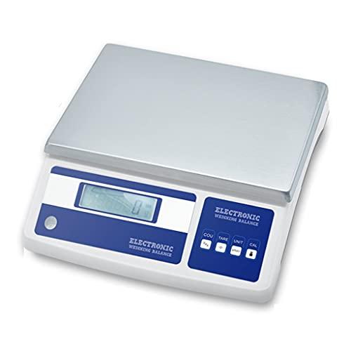 WZ Escala Conteo Piezas Digital Báscula Pesaje Conteo Industrial Laboratorio 0.1g Precisión Escala Gramo Electrónica Balanza Digital (Size : 11kg/0.1g)
