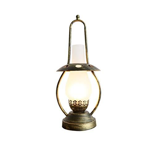 Lámpara de mesa de noche Nostálgico lámpara de mesa lámpara de mesa de noche retro creativa dormitorio lámpara de lectura Estudio de la lámpara de la lámpara País Americana Lamp Hotel Modelo Decoració