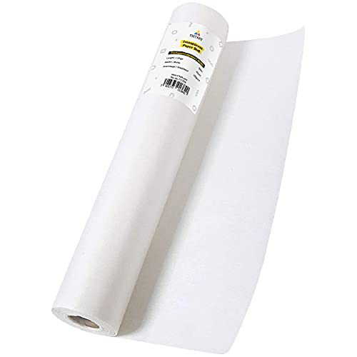 Tritart Rollo de Papel de Seda para patronajes de Dibujo - Papel Vegetal de 50g para Costuras, calcos y Manualidades - Papel Cebolla para Tus proyectos DIY