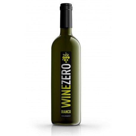 Winezero - Bianco Dry Analcolico da Vino Bianco dealcolato - Confezione da 3 bottiglie