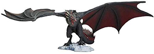 No Zxl-shouban Game of Thrones: Black Dragon (Movimiento de articulaciones) Figura en Caja de PVC- 5.5 Pulgadas (14 cm) Regalo de decoración de Personajes Modelo