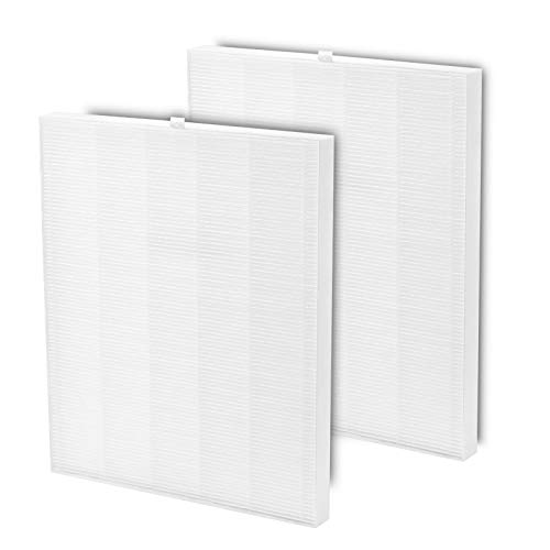 Mchillnet 2 Pack C545 Replacement HEPA Filters Compatible with Winix C545 Air Purifier, Ture HEPA Filter S, Part number 1712-0096-00, 2 True HEPA Filters