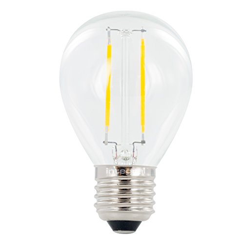 Integral LED-nicht dimmbar Breite Abstrahlwinkel Golfball Mini Globe Leuchtmittel (E27großer Schraube 2W LED, 2700K, 250lm)–Warm Weiß