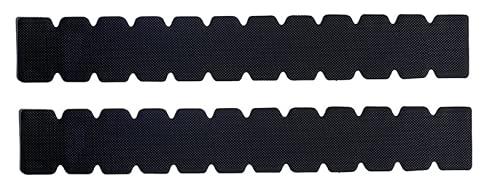 Protector para Pala de Padel Dentado Silicona Rugoso Resistente para Mayor Protección (Pack 2 Negros)