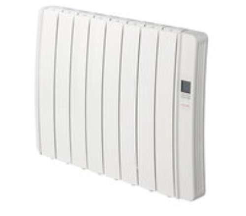 Gabarón RKS12L radiatorzender, vloeibaar, digitaal, programmeerbaar, 1500 W, wit RAL9010