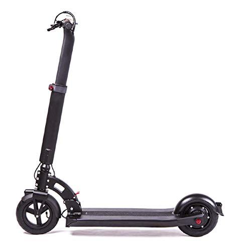 Z-SEAT Alta Velocidad Scooter eléctrico, Scooter para Adultos Scooter eléctrico portátil Plegable Kick Scooter Velocidad máxima 25 mph 250W Potencia del Motor y 100 kg de Carga para Adultos