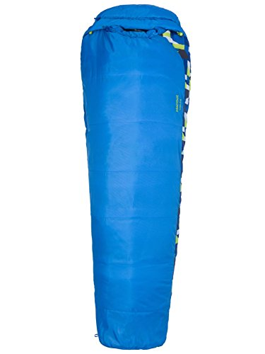 Marmot Trestles 30 Kids' Mummy Sleeping Bag, 30-Degree Rating