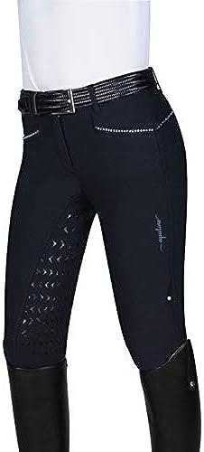 Equiline Degrade Sable FS18 Pantalon d'équitation pour Femme Bleu Taille 44