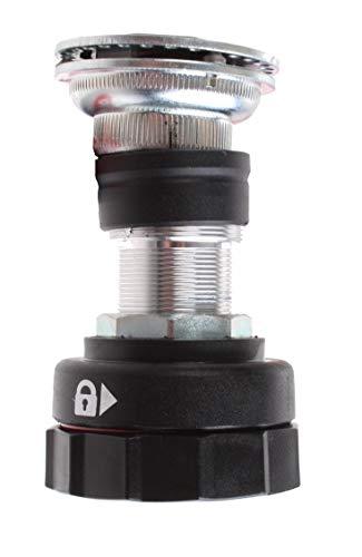 Gazelle Balhoofd Lenker verriegeln 22,2/54,5 mm schwarz