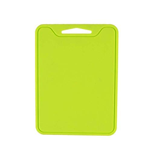 lqgpsx Flexible Silikon Schneidebrett Platte Anti-Rutsch-Gemüse Fleisch Hackklotz Hellgrün