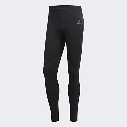 adidas Response Long Tights Men's (Black/Black, XL)