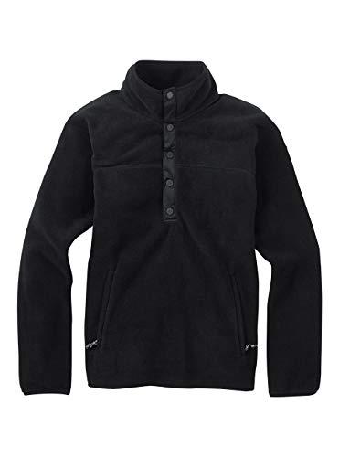 Burton Damen Anouk Fleece Anorak Pullover, True Black, M