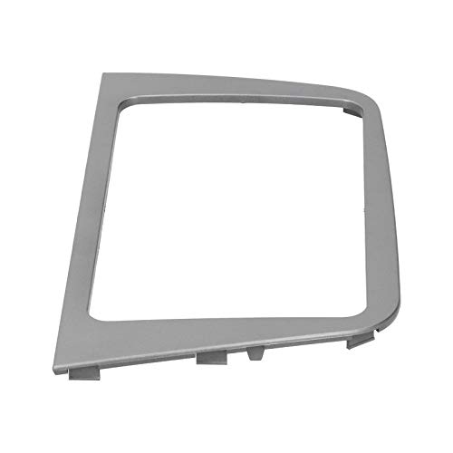 Marco de salpicadero de 2Din, construcción duradera de ABS Consola Marco de radio Piezas interiores del automóvil Instalación simple para Seat Altea 2004-2015 RHD