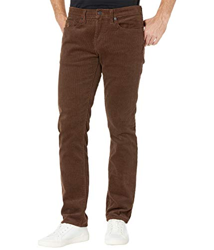 U.S. Polo Assn. Men's Corduroy Pant, Stretch Brown Woodland, 36Wx30L