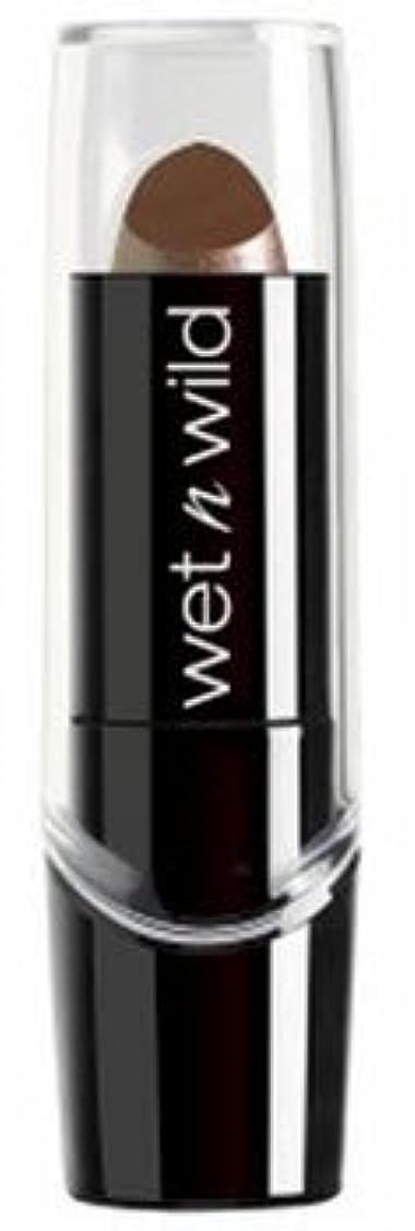 驚いたことに領域シャークWET N WILD Silk Finish Lipstick - Mink Brown (並行輸入品)