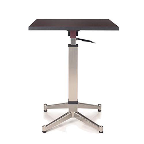 LSX - Couchtisch Couchtisch - dänischer einfacher nordischer Stil moderner moderner Klappbarentisch mit kleinem Esstisch Beistelltisch (Color : Walnut Color)