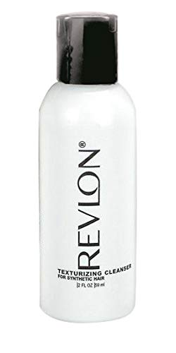 Revlon Texturizing Cleanser for Synthetic Hair Wigs, 2 Ounce Travel Size