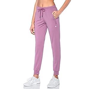 Women's Joggers  Jogging Pants with Zipper Pockets