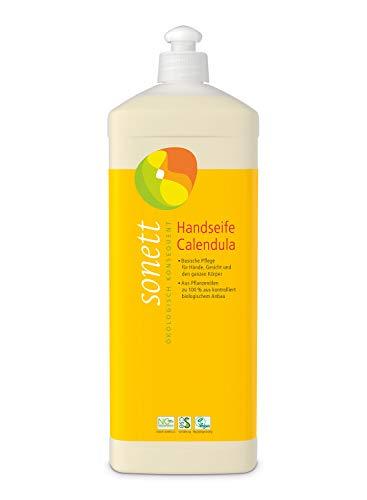 Handseife Calendula: Basische Pflege für Hände, Gesicht und den ganzen Körper, 1 l