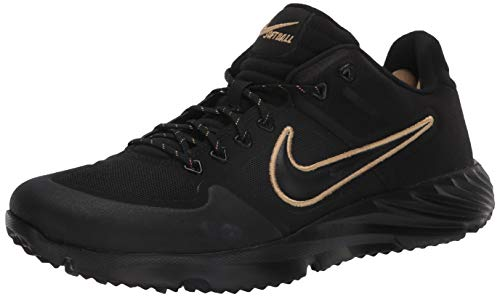 Nike Alpha Huarache Elite 2 Turf Black/Black 5.5 -  BQ4164-005