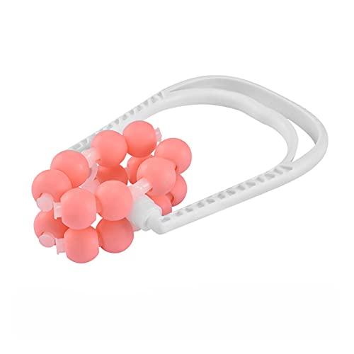 Bianlang 1 PC 8 Bola de Rodillo Pierna Massager Slim Foot Barra de Becerro Cintura Magic Formado Relajación Aliviar el Dolor Muscular Dolor for Las Mujeres (Color : Pink)