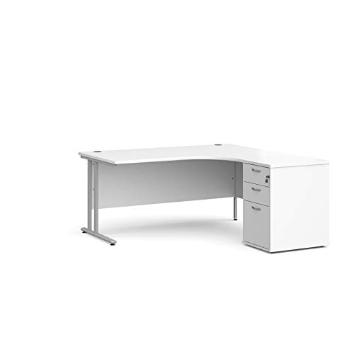 Mr Office Furniture Ltd Maestro 25 right hand ergonomic desk,...