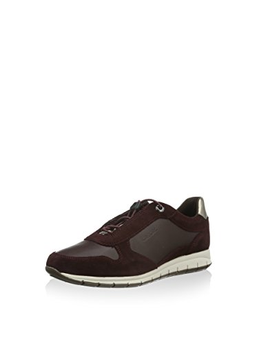 Geox Damen B Kaytan C Low-top, Burgunder, 41 EU
