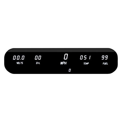 Intellitronix Digital 5 Gauge Dash Panel Kit (Universal) in White!