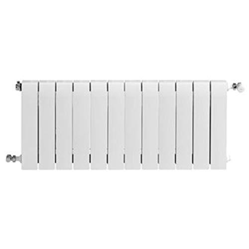 Baxi Radiador de aluminio de alta emisión térmica Batería, 12 elementos, serie Dubal 60, 8,2 x 96 x 57,1 centímetros (Referencia: 194A26201), Blanco