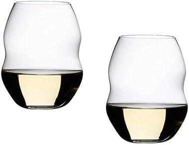 Riedel Swirl Stemless Red Wine Glass Set of 4