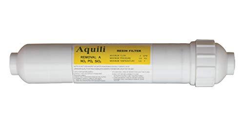 Aquili RE027 - Cartucho de Resina NPS 2' 250 ml, Trata Aproximadamente 150 litros de Agua