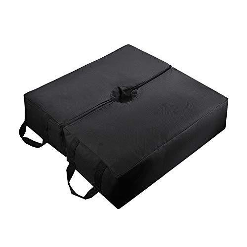 ValueHall Sac de Poids de Base pour Parapluie Amovible Tente Sable 18inch Ouverture pour Le Sable Pieds de Parasols Sac de Poids détachable Parapluie Base Poid pour Patio parapluies V7059D