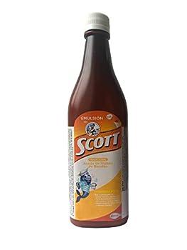 Emulsion de Scott Sabor Tradicional 450 ml