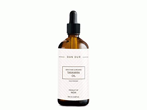 Dan-Dur Aceite de taramira para el crecimiento del cabello, caspa, eliminación de piojos, prevención de la pérdida del cabello (50ml)