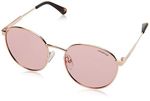 Polaroid KIDS PLD 8039/S Sunglasses, Gold Copp, 49 Unisex-Adult