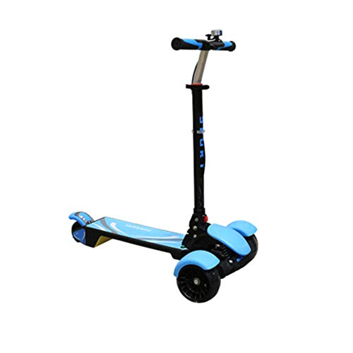 ZZTHJSM Scooter de Niñas, de 3 Ruedas Scooter, Scooters