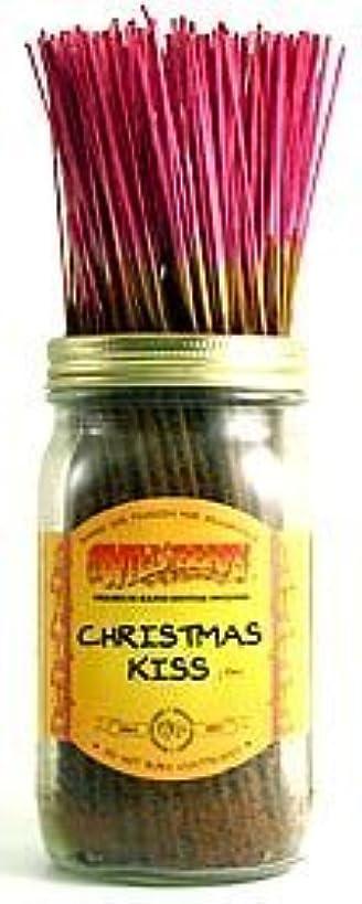 然とした音声学ワイドChristmas Kiss - 100 Wildberry Incense Sticks [並行輸入品]