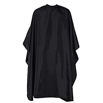 HABBIBI Nylon Salon Barber Cape for Men-Women Hairdressing Waterproof Snap Closure Apron Hair Cutting Capes for Adults 59x51 Inches- Professional and Home Use  Professional