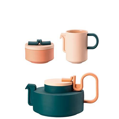 Rosenthal Tongue - Set da tè in Porcellana, 3 Pezzi