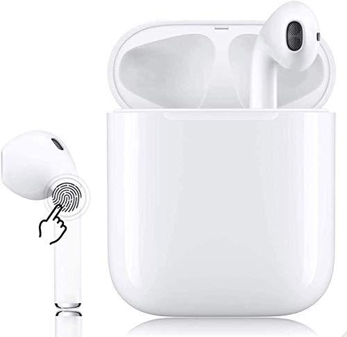 Bluetooth-Kopfhörer,kabellose Touch-Kopfhörer HiFi-Kopfhörer In-Ear-Kopfhörer Rauschunterdrückungskopfhörer,Tragbare Sport-Bluetooth-Funkkopfhörer,Für Android/iPhone/Airpods/Samsung/AirPods Pro