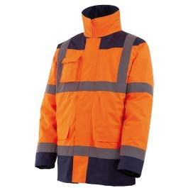 SINGER SAFETY - Parka/Veste Amovible (4x1) Orange/Bleu - 182-PARINO*Corps - XL