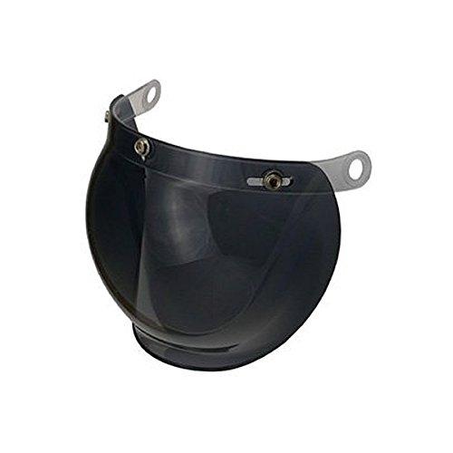 HK LEAD バブルシールド リード工業ヘルメット専用オプション BC-9S [スモーク] CR-760, QP-2, QP-1, BC-10, BC-9用