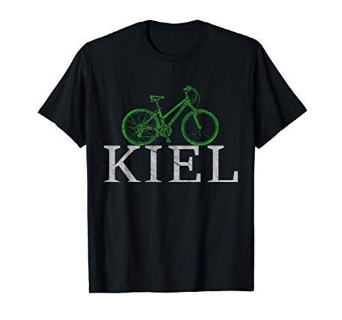 Grüne Mobilität - Nachhaltig mit dem Fahrrad in Kiel T-Shirt