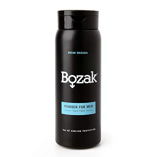 Bozak Cooling Body and Foot Powder for Men